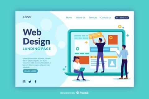 JASA DESIGN WEBSITE PROFESIONAL